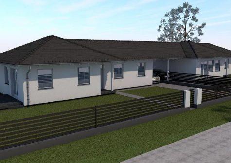 Újépítésű családi ház, nagy telekkel zöld övezetben Szigetszentmártonban!!!